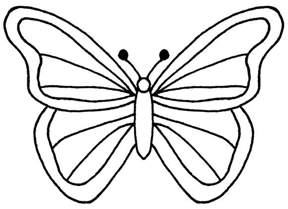 simple butterfly wings shared by w kayne 03 27 2012 button art rh pinterest com Simple Black and White Candy Clip Art Butterfly Drawings Black and White Pointed Wings