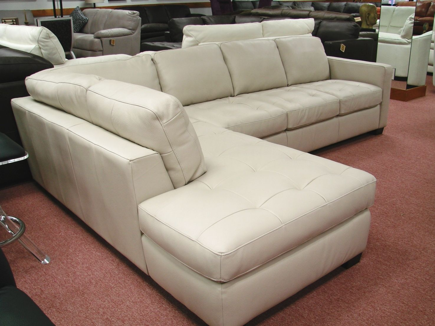 Traditional Style Natuzzi Sectional Sofa Moooi Brand