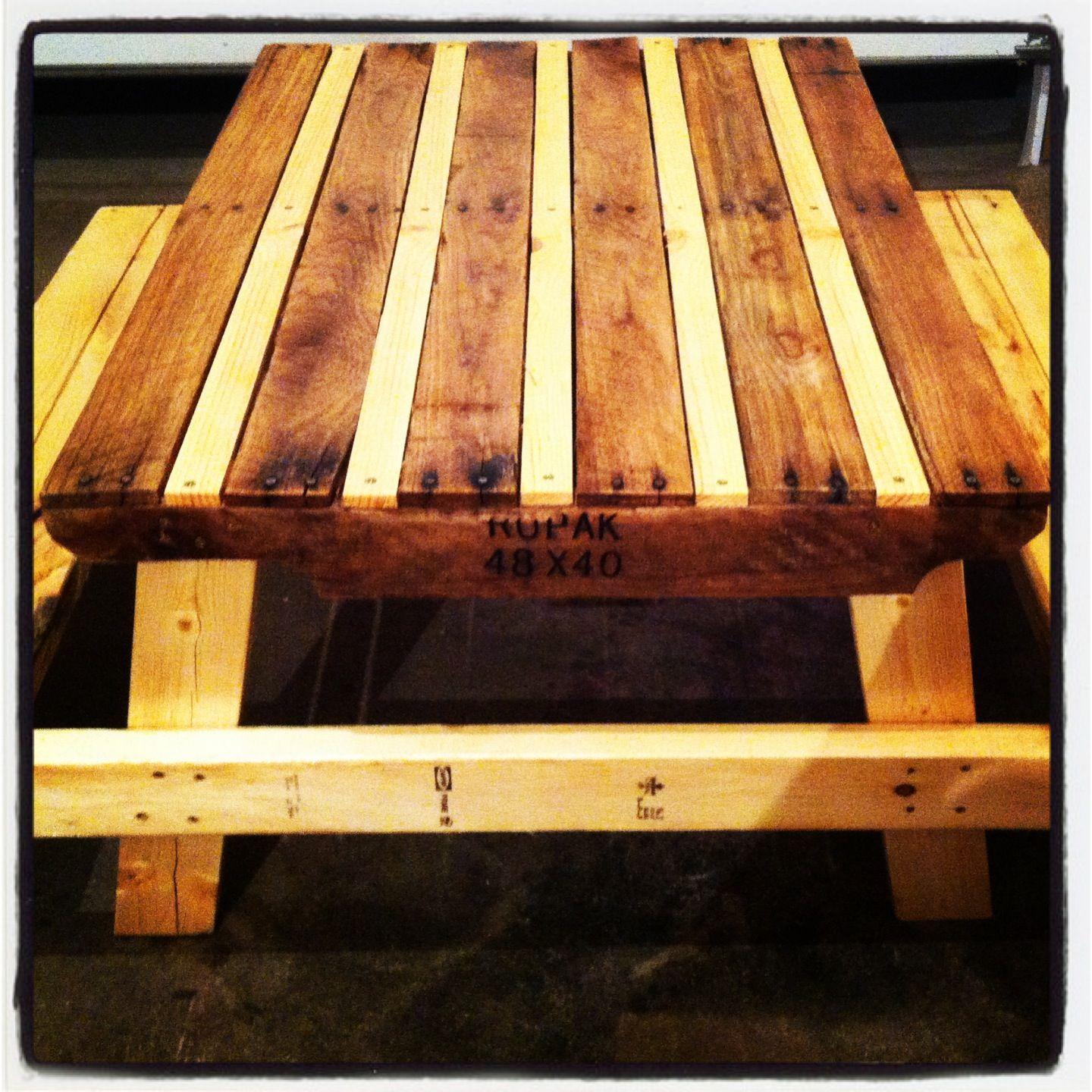 Best 25 Pallet Picnic Tables Ideas On Pinterest Outdoor