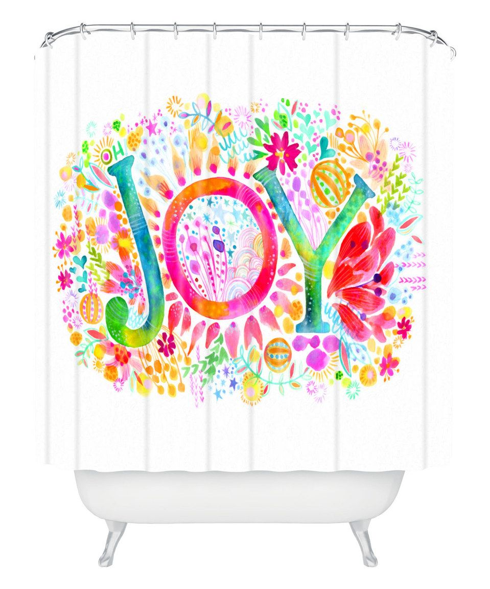 Another great find on #zulily! 'Oh Joy' Shower Curtain by DENY Designs #zulilyfinds