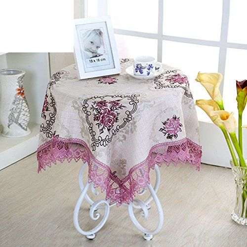 Small Table Tablecloth Bedside Table Cover Coffee Table