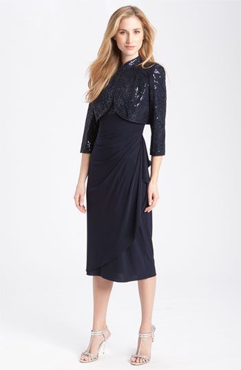 Alex Evenings Gathered Dress & Jacket   Nordstrom   MOG   Pinterest ...