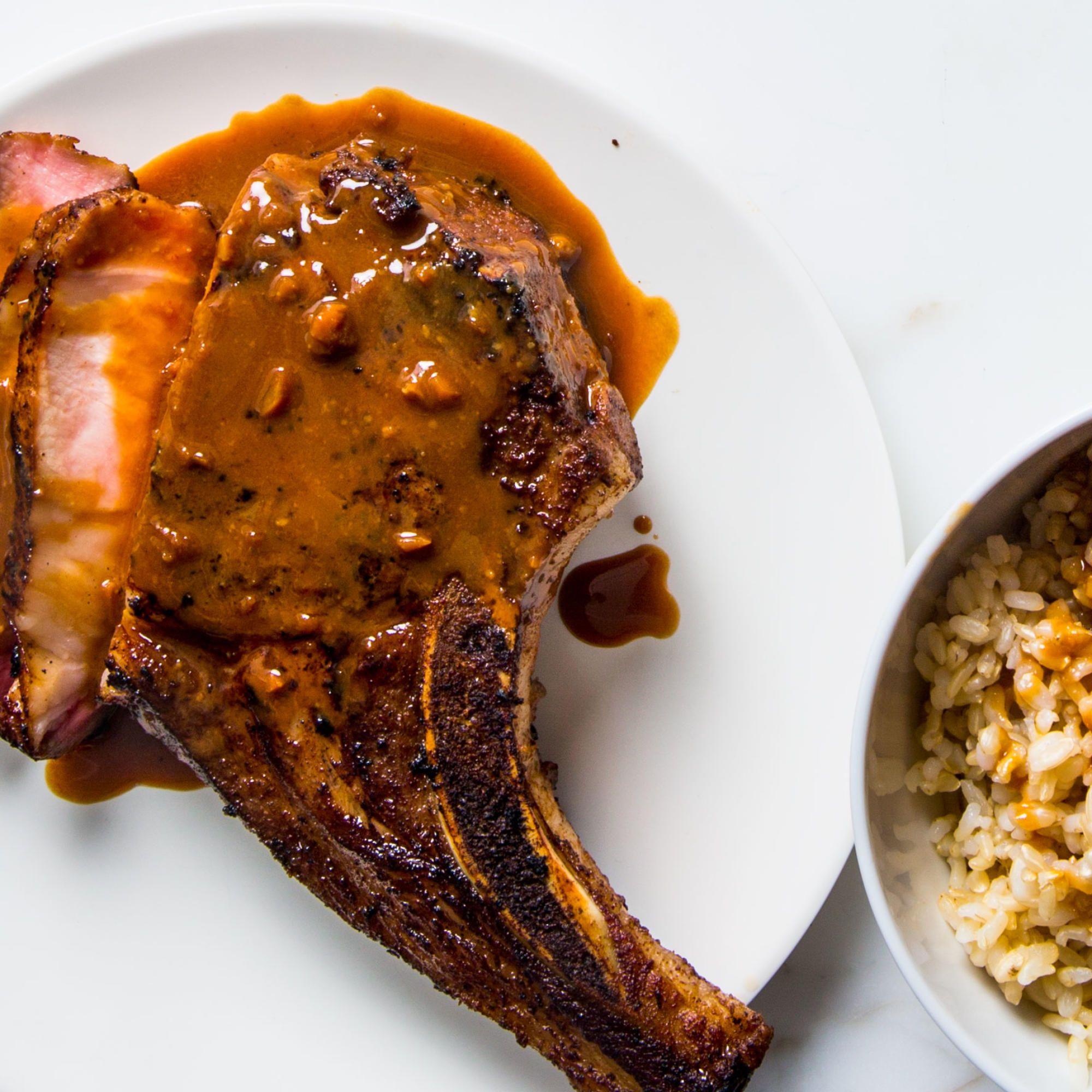 Hoisin-Glazed Pork Chops   Recipe   Foodie inspiration