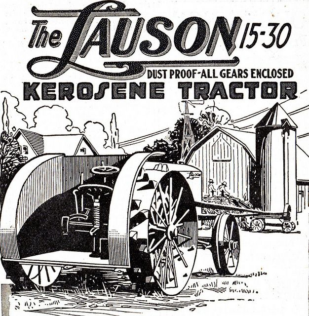 1954 Ford Tractor Wiring Diagram: 1919 Lauson Tractor