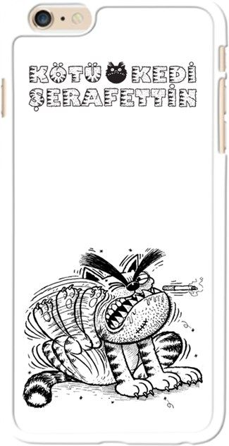 Kötü Kedi Şerafettin - Uyuz - Kendin Tasarla - iPhone 6 Kılıfı
