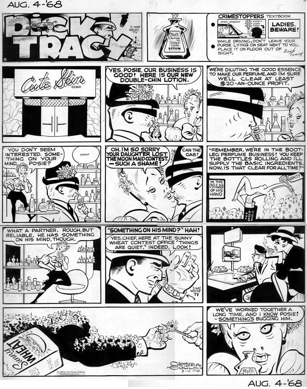 Dick tracy comic strip online