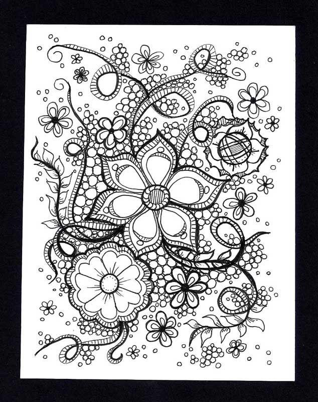 Penmark Patterns | Penmark Patterns Zentangle Image by Katie Butler, CZT