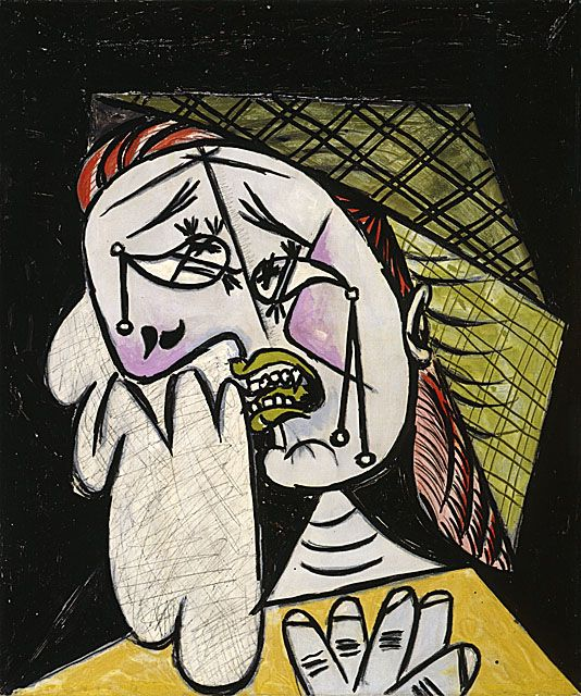 Pictured Above Is Weeping Woman With Handkerchief A Portrait Painted By Pablo Picasso This Painting W Picasso Art Pablo Picasso Art Pablo Picasso Paintings