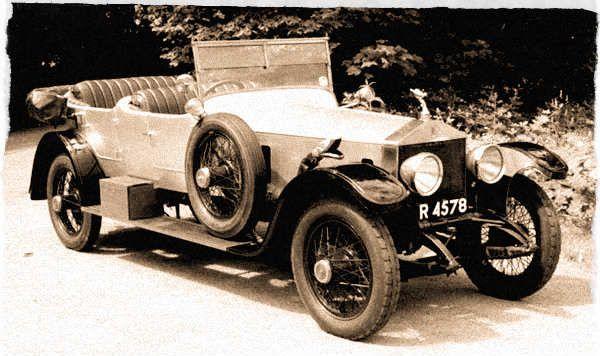 1920 Rolls Royce Silver Ghost Open Tourer Vintage 1920s