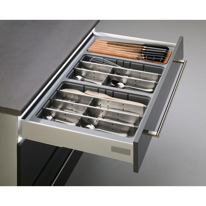 Cubertero para caj n de cocina cuberteros a medida for Separadores cajones cocina
