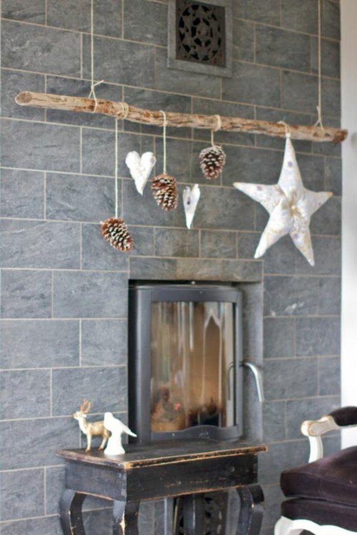 Objet en bois flotté cadre en bois flotté decoration nature mobile ...