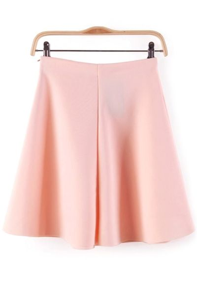 Essential Textured Skater skirt