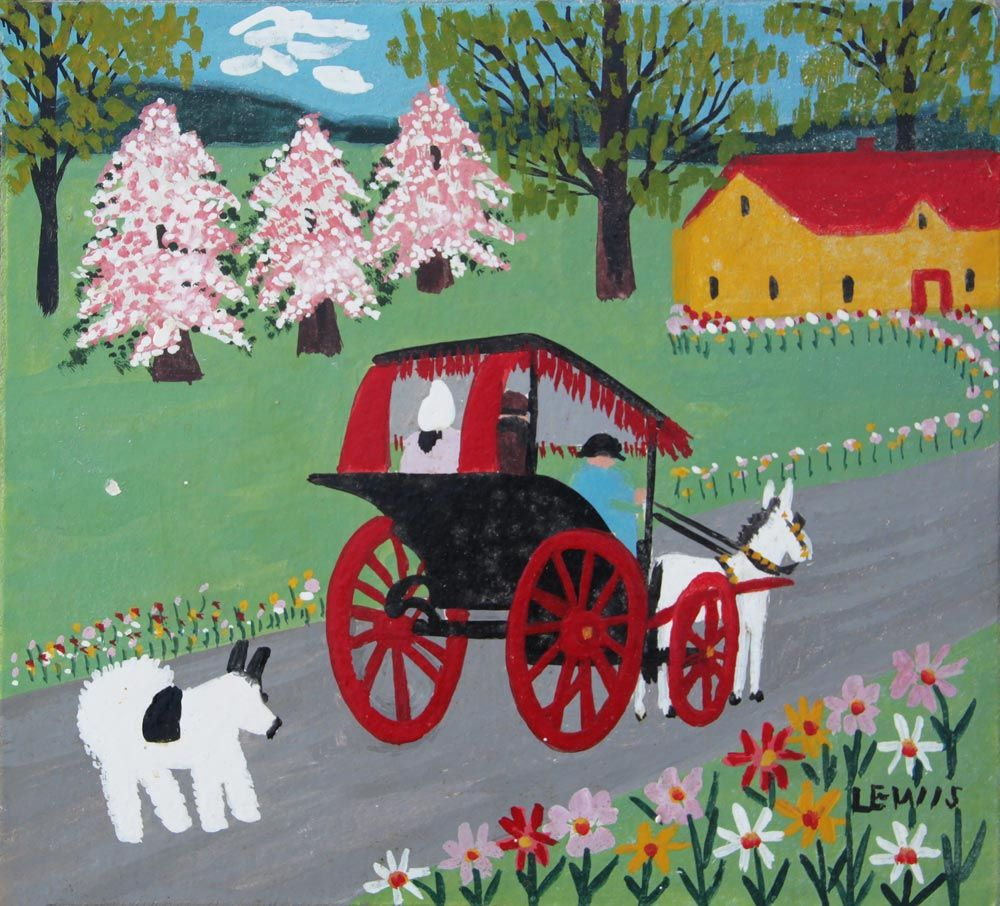 Maud Lewis (With images) Maud lewis, Maudie lewis, Maud