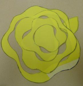 ruže šablóny