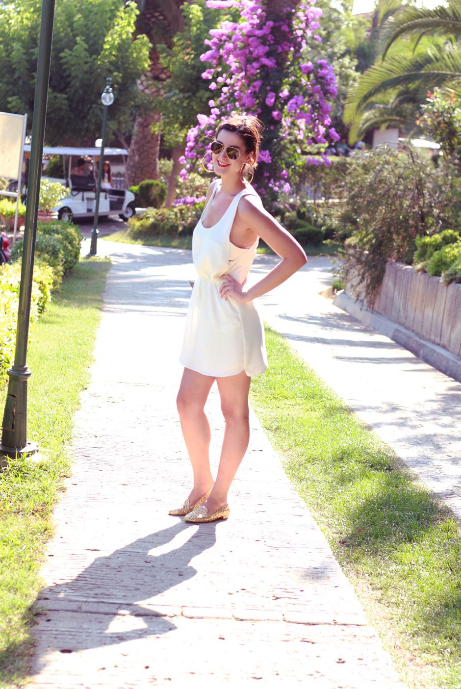Nil Erturk White Summer The Dress Elbise Elbise Modelleri