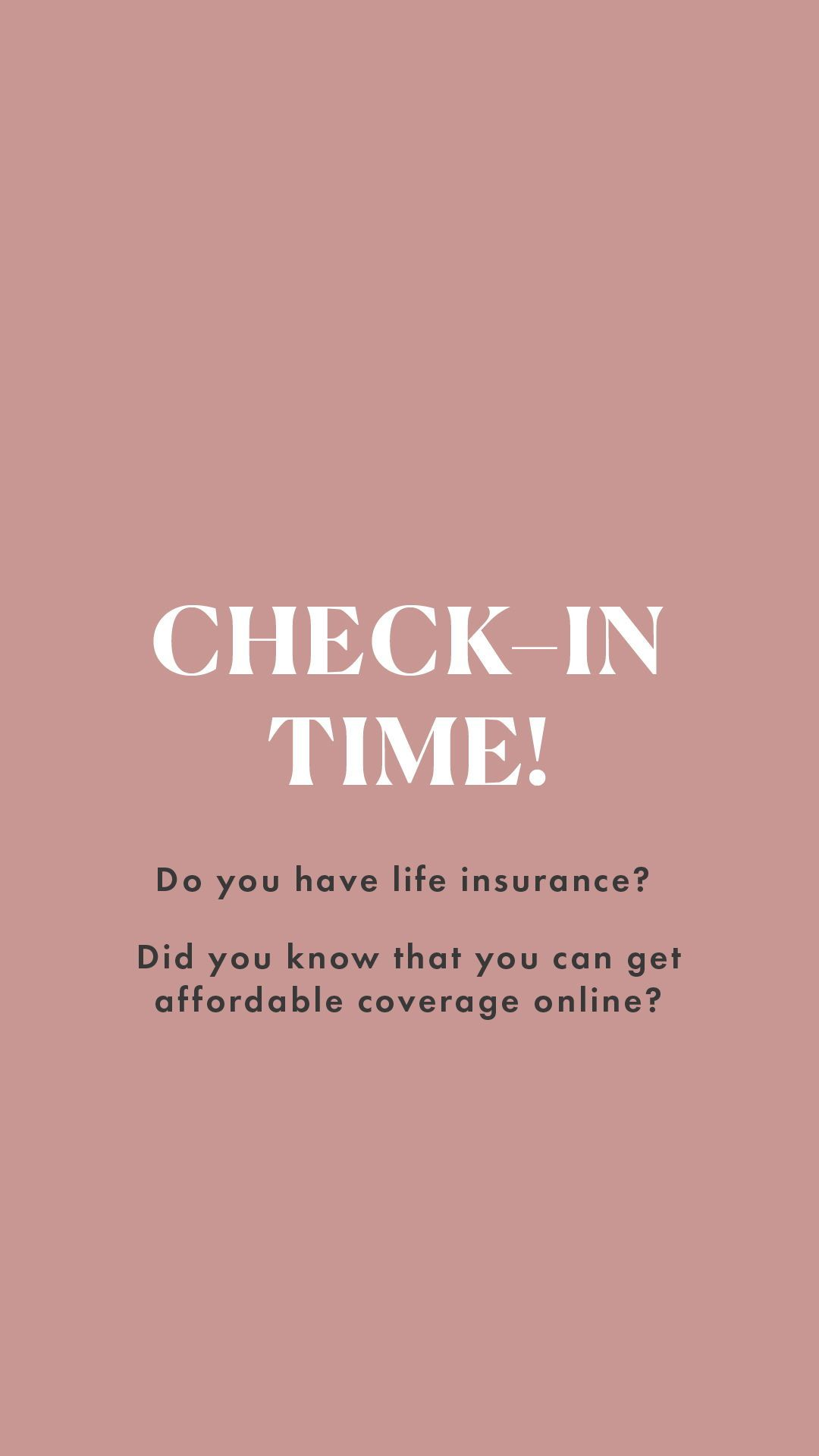 So Do You Have Life Insurance Yet Product Term Life