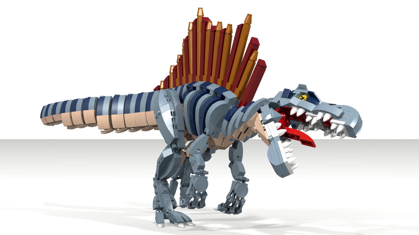 Spinosaurus Lego Dinosaur