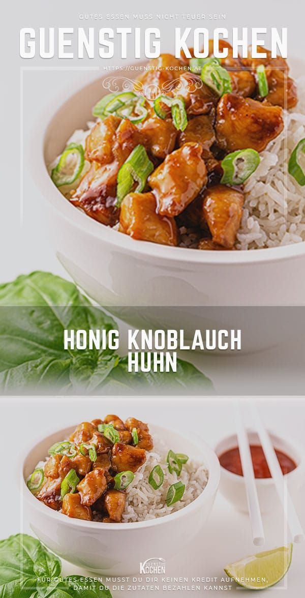 Photo of Honey Garlic Chicken – This is how fast Asian cuisine works