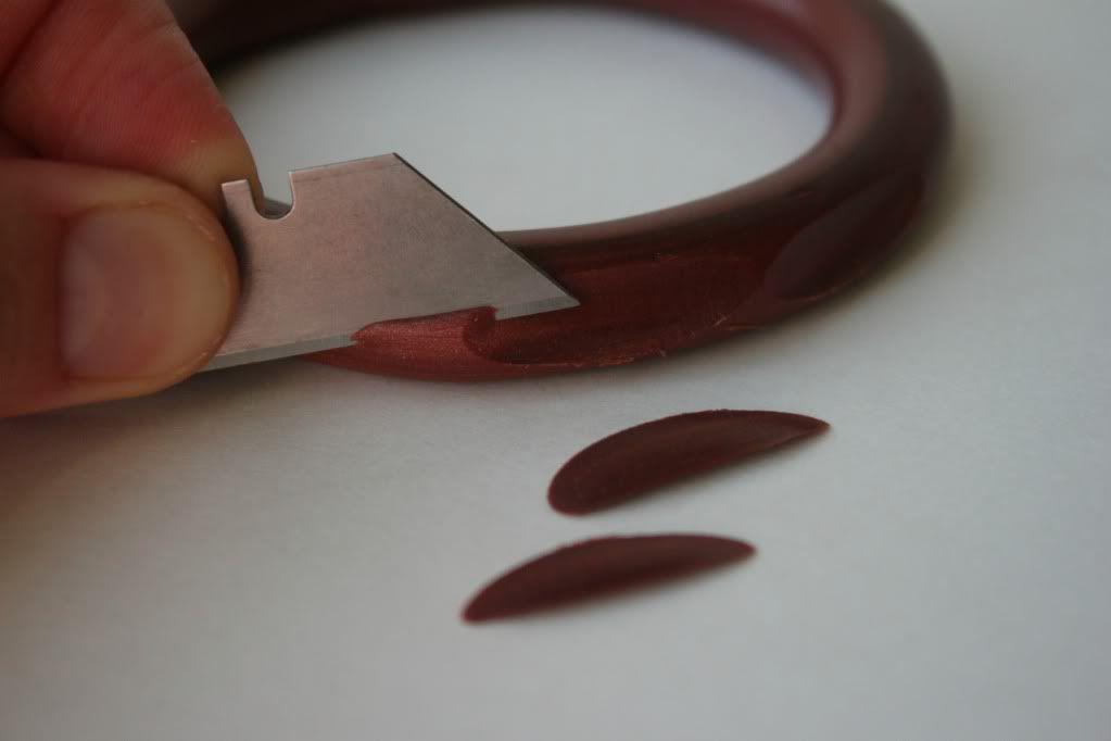Fimo-armbånd