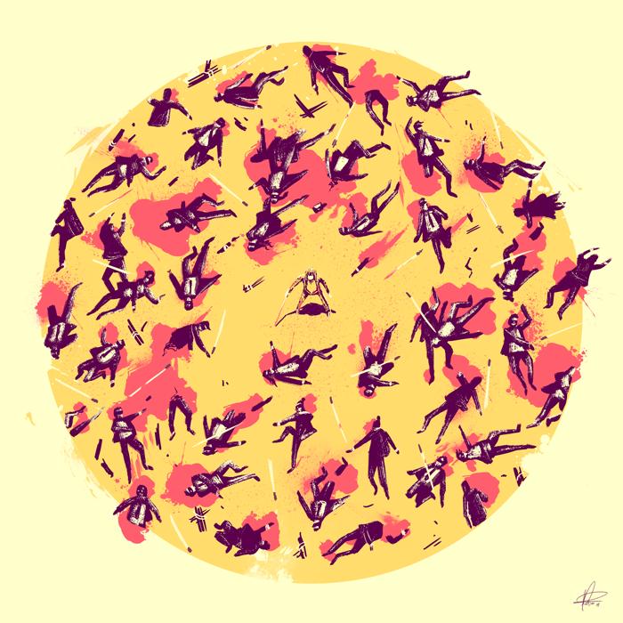 'Kill Bill' illustration by Marie Bergeron.