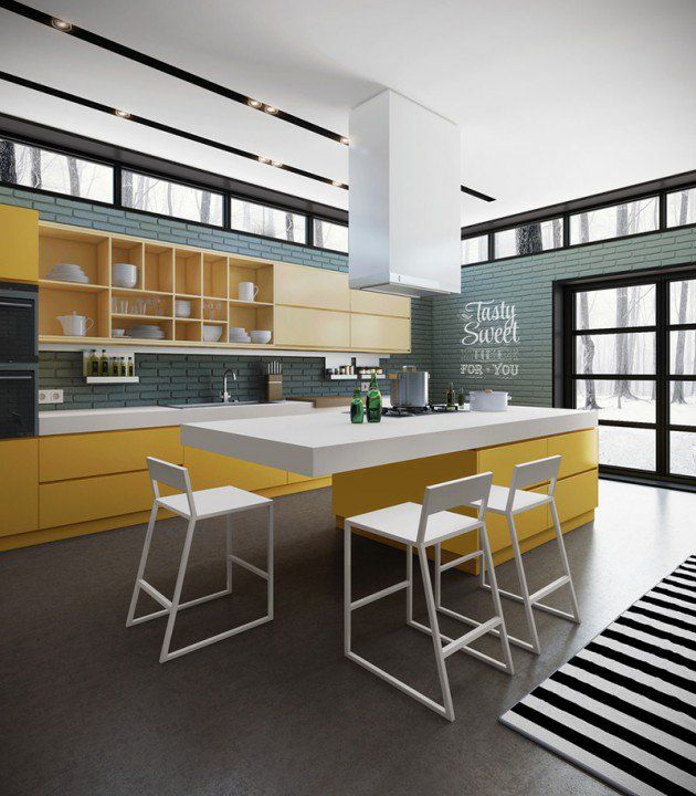 Best 16 Ultra Modern Kitchen Designs That Will Leave You 640 x 480