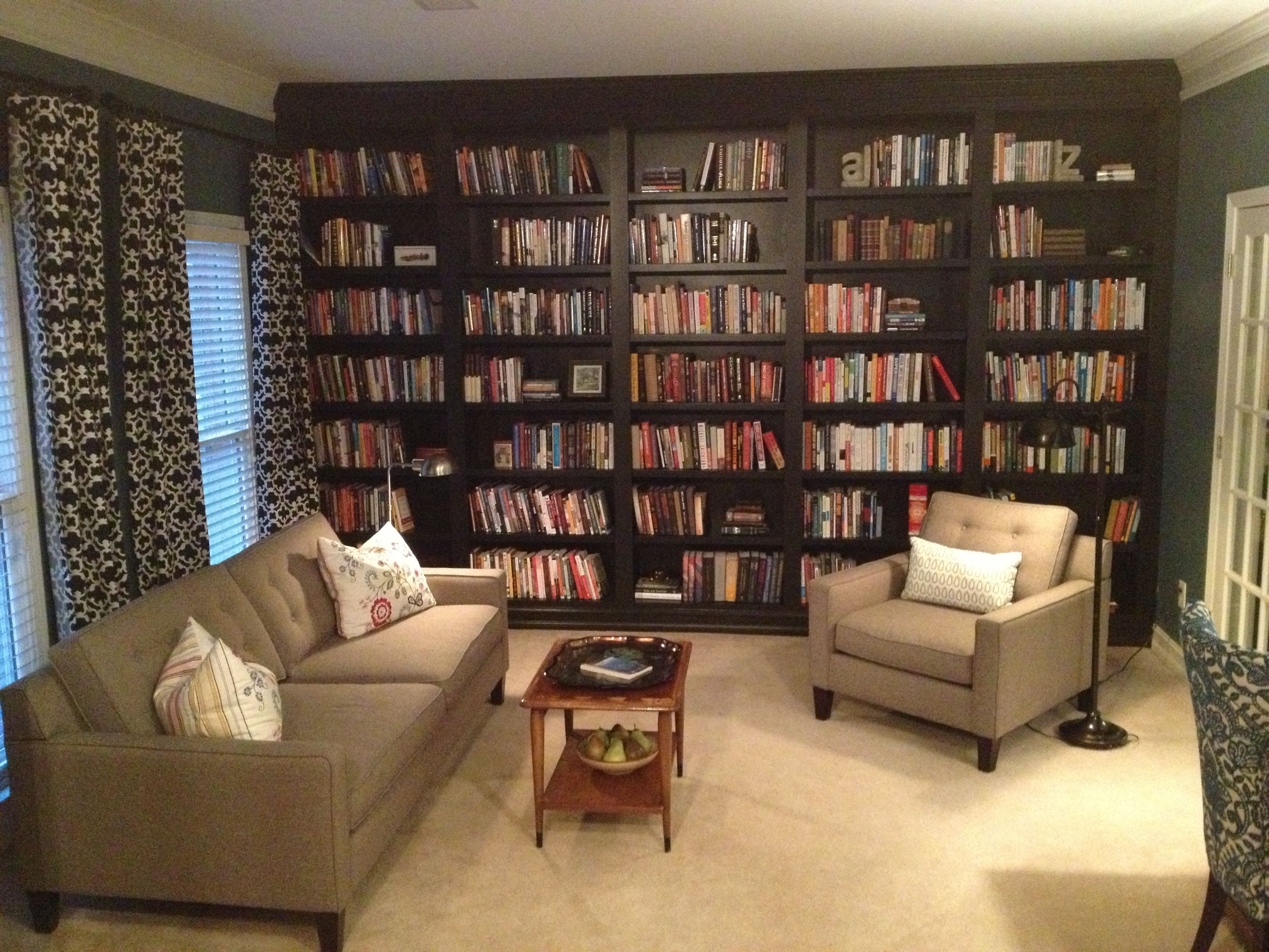 Home Library Design For Your Home Home Library With Cozy Room Captivating Living Room Library Design Design Inspiration