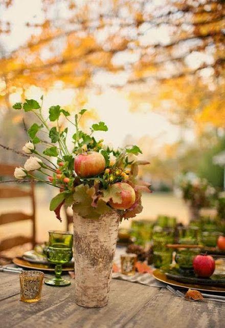 Autumn table...