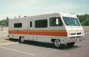 Pictures Of Old Motorhomes With Images Motorhome Bus
