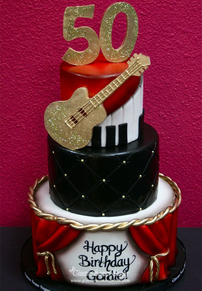 could do this for Rory's Gordie Brown's music-themed 50th ...