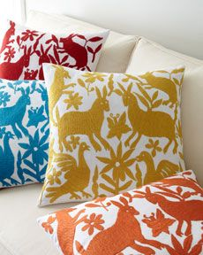 ottomi forest pillows by better living on horchow