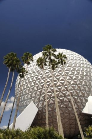 Disney's Epcot. Used in the first battle sequence of the Ultimate Agent and Specialist vs. Maximus Romanov