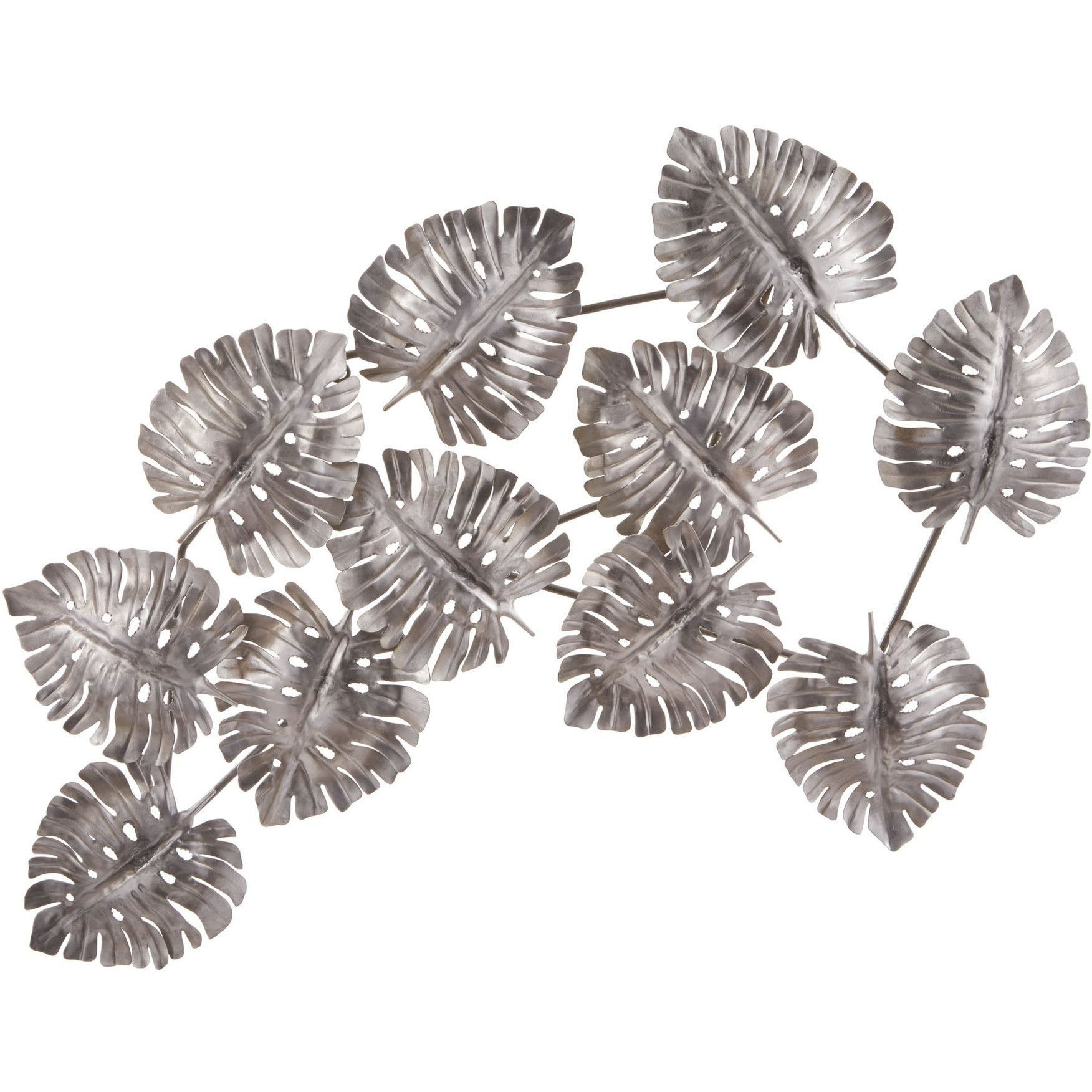 your leaves leaf art metal decor gold show us traditional flowing bird branch brushed wall