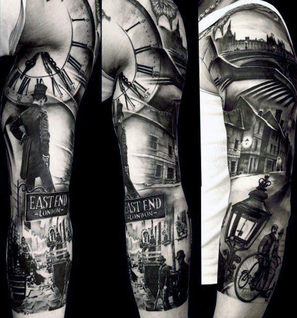 Start A Fire Sleeve Tattoos Grey Tattoo Black And Grey Tattoos
