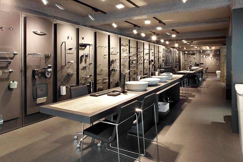 hardware showroom interior design