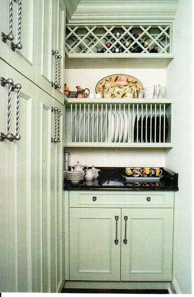 Love this plate storage idea! & Designing Your Dream Home: Kitchen: Vertical Storage Option Series ...