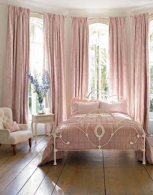 Pink bedroom. | Cama de Ferro | Pinterest | Luxus, Wohnen und Häuschen