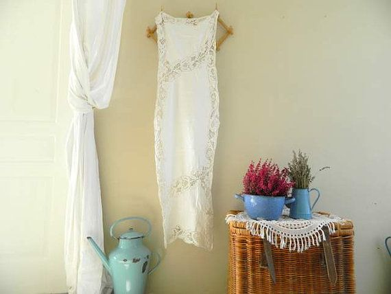 Hey, I found this really awesome Etsy listing at https://www.etsy.com/listing/211089698/long-lace-table-runner-white-cotton