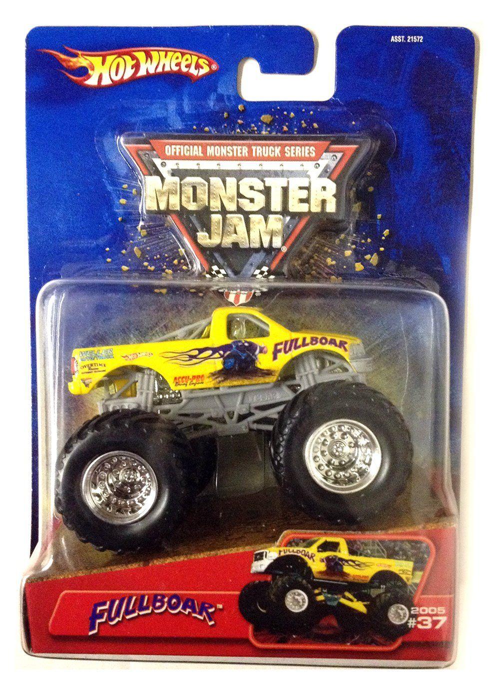 amazon com fullboar monster truck 2005 wheels monster jam
