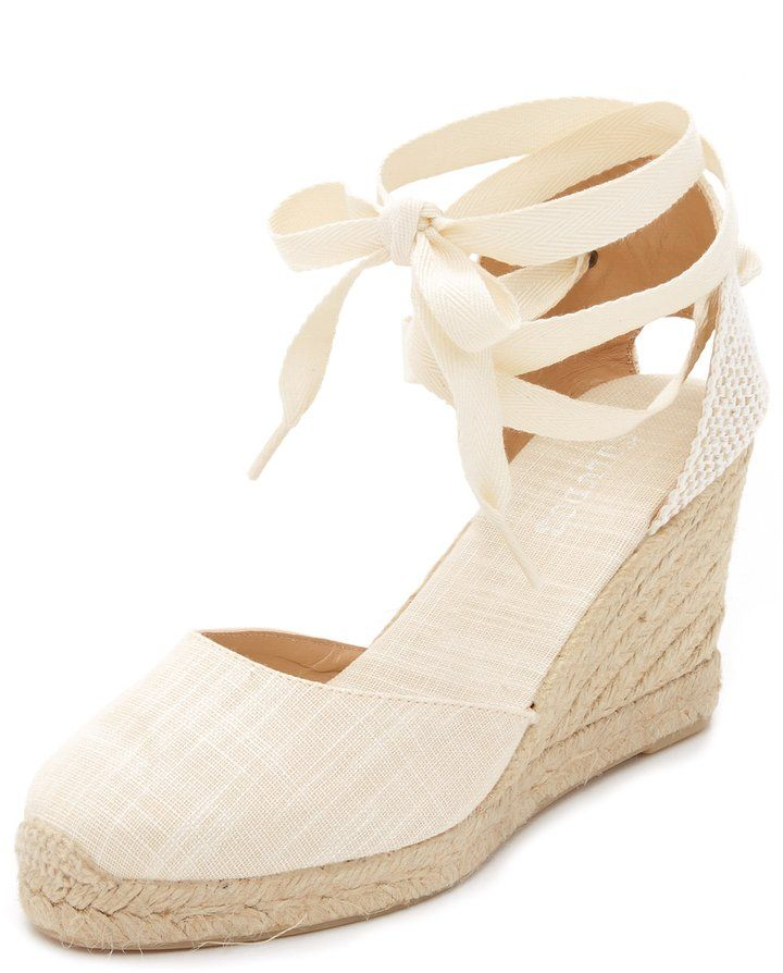 7338e1171 Shoes That Make Your Legs Longer: Soludos Tall Wedge Espadrilles ($95)