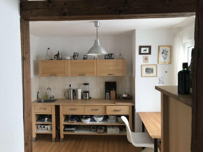 Küche Holz Lxtxh Ikea Arbeitsfläche Mit Aus Werkbank lange dthQrsxC
