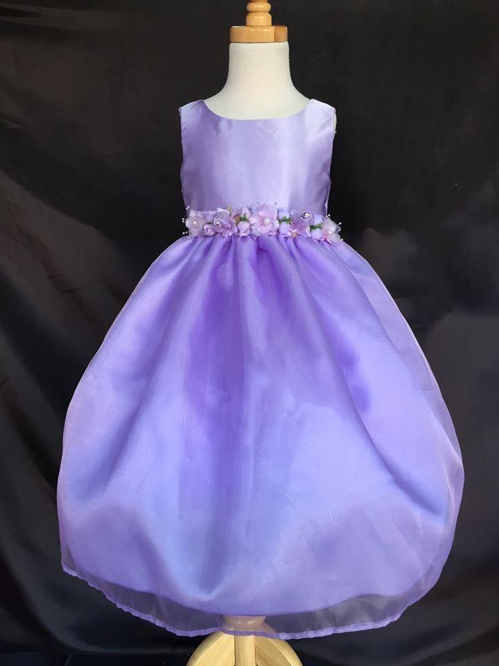 Flower Girl Bridesmaid Lilac Cute Easter Dress #ForeverMyPrincess #DressyEverydayHolidayPageantWedding