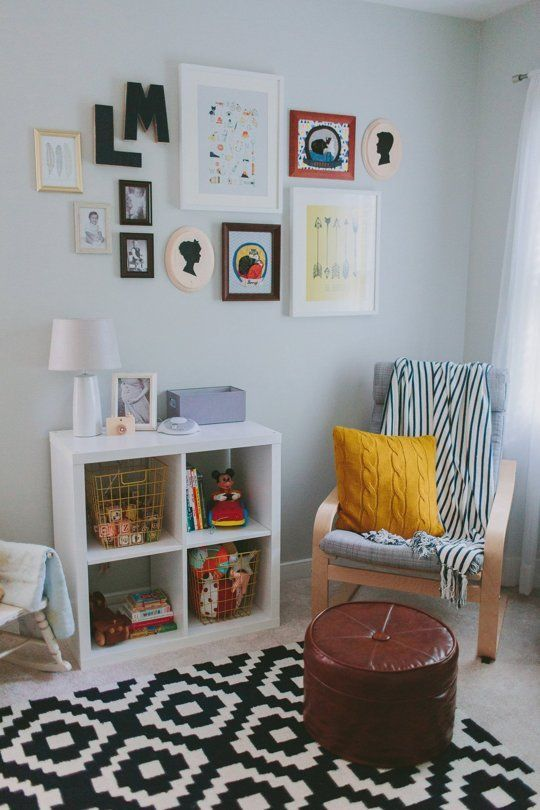 Llewyn S Vintage Inspired Nursery On A Budget My Room Apartment Therapy