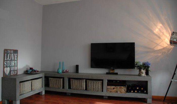 Zelf een uniek tv meubel gemaakt met coprox eerst een for Zelf meubels maken van hout