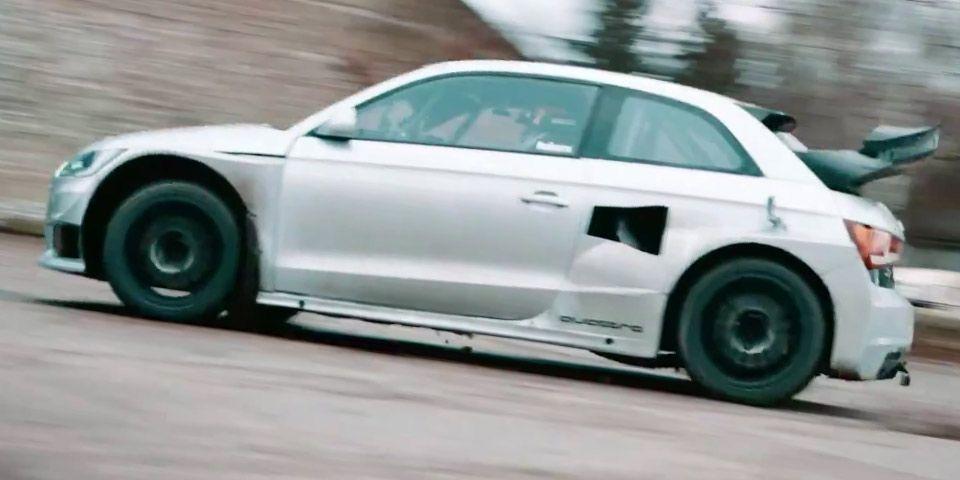 Video Audi Quattro Rc Car Challenge With Ekstrom S1 Eks Rx Fiat