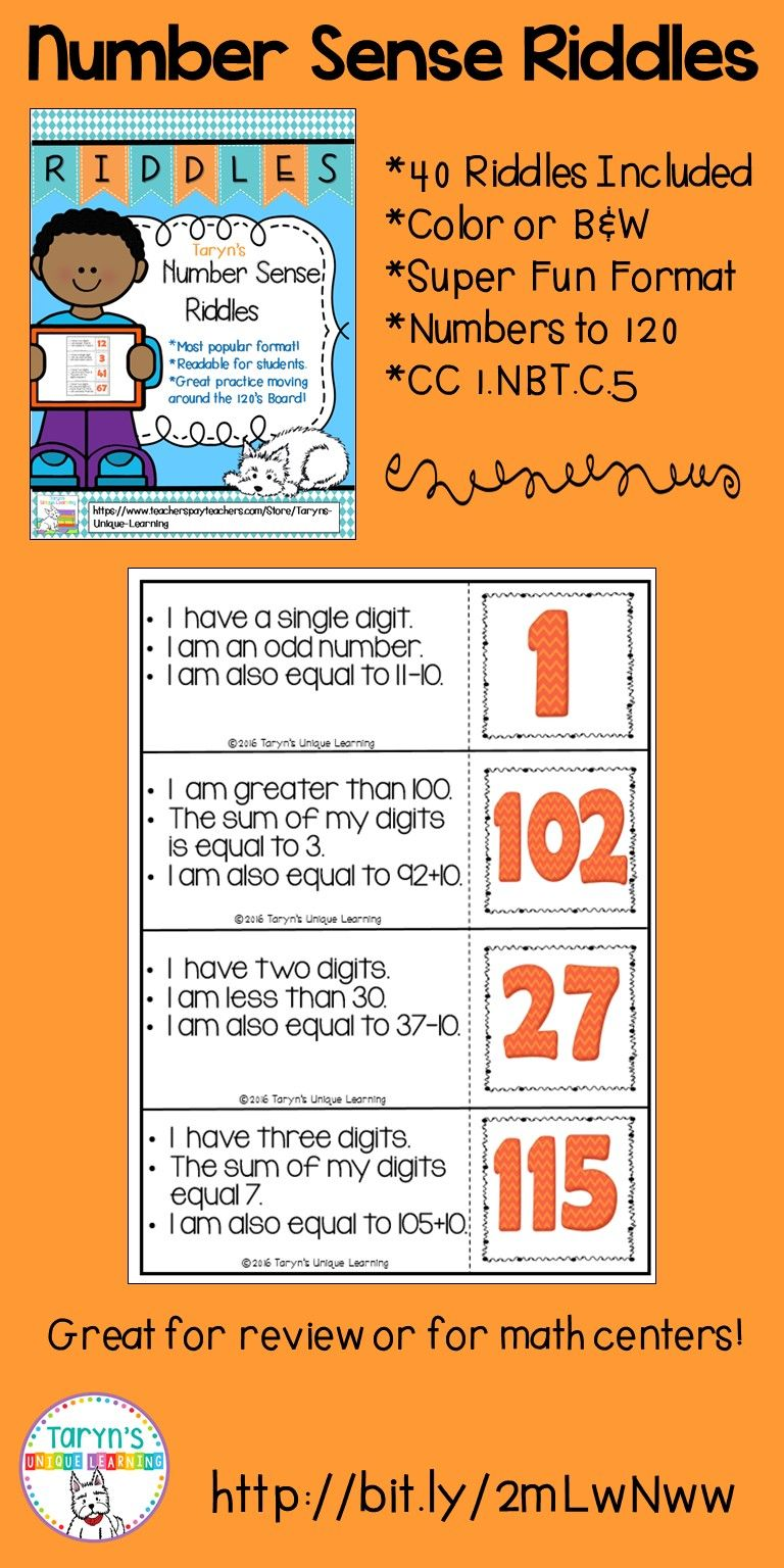 Number Sense Riddles Education quotes for teachers