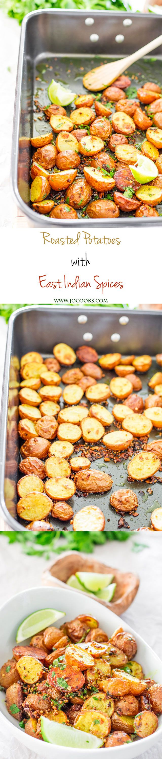 Roasted Potatoes with East Indian Spices Indian food