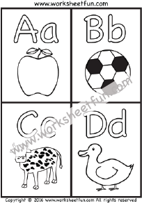 Letter Coloring Pages Let S Learn Worksheets Alphabet Coloring
