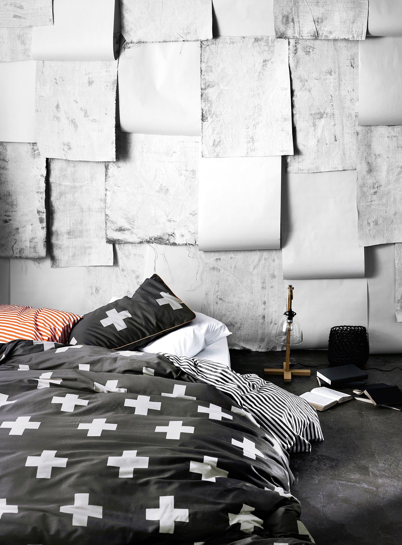 Superbe Black U0026 White Bedding | Aura Anchorage Cross Duvet At Simons Maison. #home #