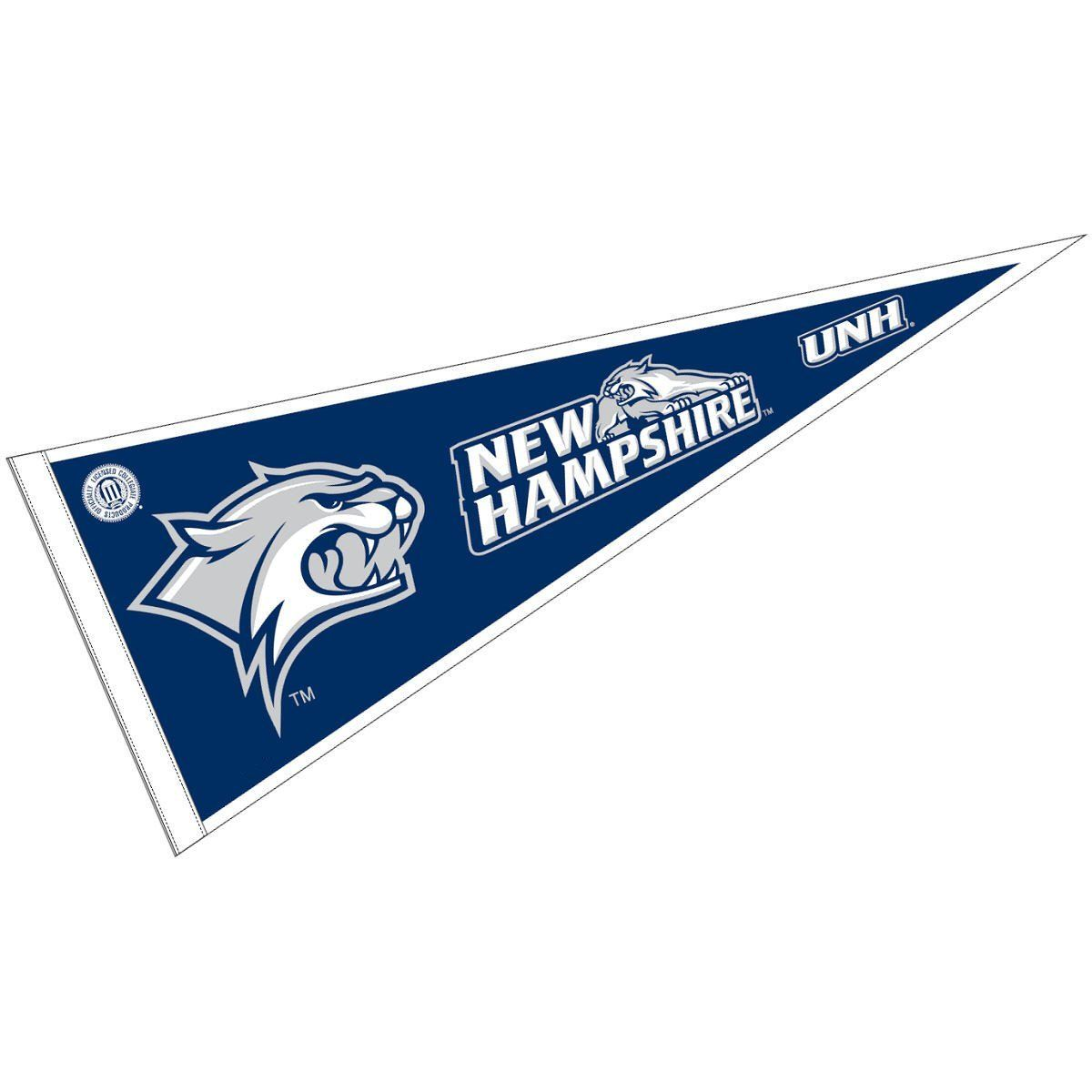 Amazonsmile University Of New Hampshire Pennant Full Size Felt