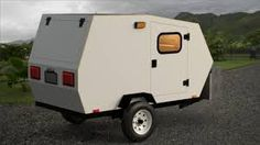 harbor freight trailer camper plans google search teardrop